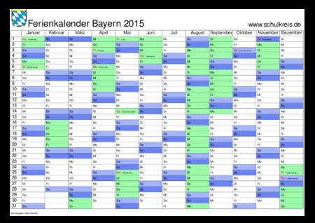 ferien nbayern 2017
