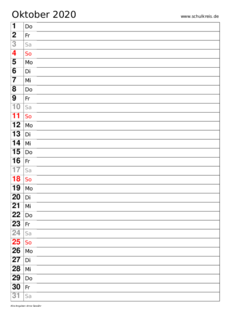 terminkalender-Oktober-2020